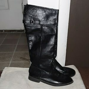 Enzo leather boots